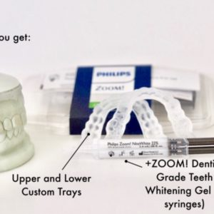 sentinel mouth guard teeth whitening system