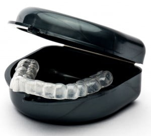 lower mouth guard for teeth grinding